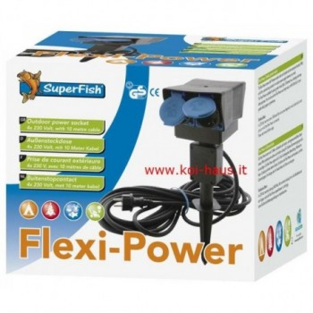 Flexy Power – Multipresa da giardino
